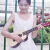 音楽教室トレーナー男性携帯型小型カップル初心者ギター小学生青少女ウクレレ23インチコース4(色コメント)