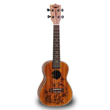 闘牛士ウクレルハワイ小さなギタスタッドシリーズ相思木ウクレウレレレレレレレギターにD-24 Aがこずえを喜んでいます。