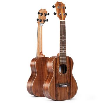 TOM Tomウクレクラル思い思いの木TUCC 700ハワイ電気ボックス四弦小さなギタ23寸26寸23寸相思木TTC 700+豪華プレゼント