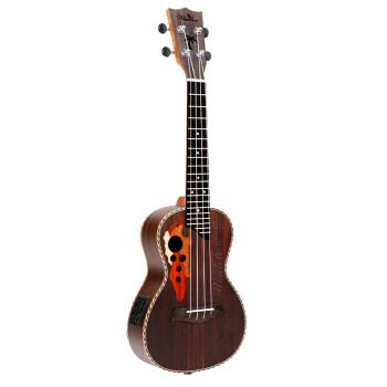 名森(Minsine)名森ウクレ21寸23寸ウクレレ児童初学入门小さなギタ児童楽器26寸バラ木電箱