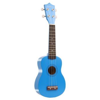ウクレレ初心者女21寸入门小さなギター23寸ウクレレ男児成人学生初学ハワイ四弦小ささなギター21寸/イディーゴ青标准版-0
