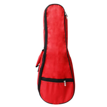 名森21寸24寸27寸30寸36寸ウクレレギターケースプラスコットンバッグuuleleバッグカラーアコースティックギターケース21寸大赤