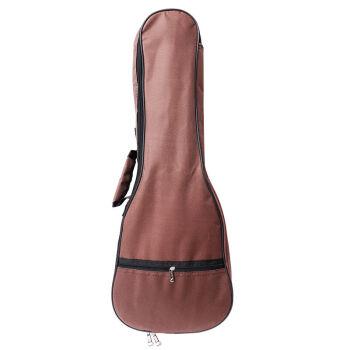 名森21寸24寸27寸30寸36寸ウクレレギターケースプラスコットンバッグuuleleバッグカラーアコースティックギターバッグ24寸コーヒー色