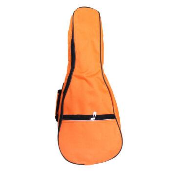 名森21寸24寸27寸30寸36寸ウクレレギターケースプラスコットンバッグuuleleバッグカラーアコースティックギターケース24寸オレンジ色