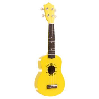 ウクレ初心者女子21寸入门小さなギター23寸ウクレ男児成人学生初学ハワイ四弦小ささなギタ21寸/明るい黄标准版-0