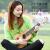 Tinnyn【無料刻印】天宇ウクレウ小さなギタリー児uuleleユーリック初心者大人23寸ゼブラ木ウクレ-高配