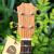 Tomウクレ江一燕デザレンC 1桃の心木スノボルドUKURLE男女生ウクレレ弾唱指弾四弦小さなギター23寸原声モデル