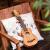 【無料彫刻】Ajima 23寸ウクレスノバード小児初心者ウクレレ26寸小柄なギタ黒馬-21寸桃心木(原木色)