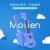 モリオン(molien)uuleleウクレウレ21寸深青民謡小さなター
