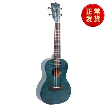 闘牛士ウクレレ初心者23寸26寸ウクレレ学生小さなギタリー児童成人入门uulele 23寸深海蓝