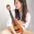 KakaウクレァレンMAD亮光全スノ-ボア演奏級ウクレ23型電箱26カカ女男小さなギター26寸【曜夜黒】KT-MADE【電箱】