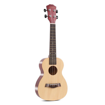 ウクレ初心者女子21寸23寸入门小さなギタ男子児童生徒カラーギターウクレル原木色23寸标准版