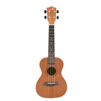 相思鳥ウクレレ/uulele 26レンチ桃心木合板ハワイウクレレ小さなギタ初心者入門楽器原木色XS 1801